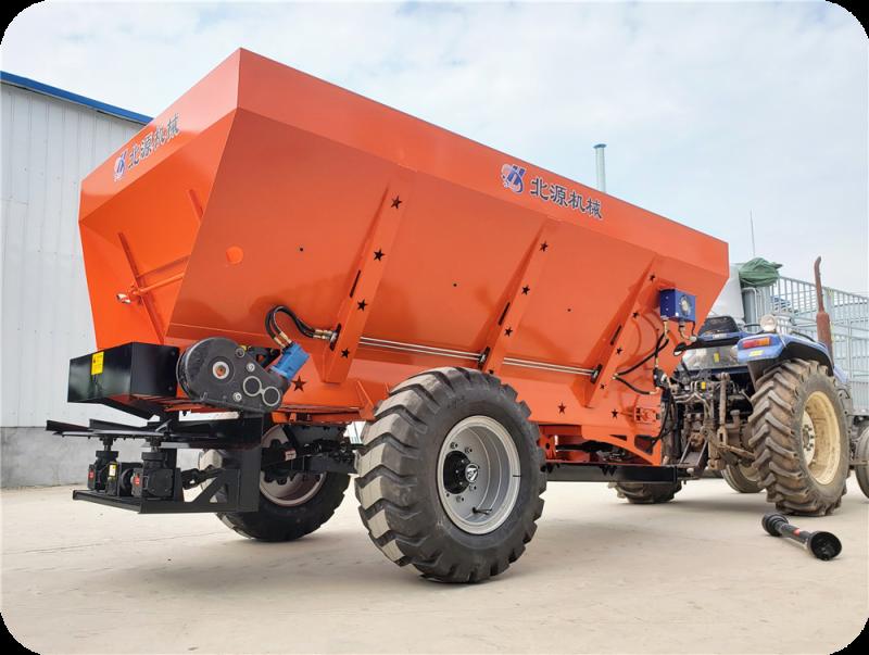 江苏8吨固体有机肥撒肥车