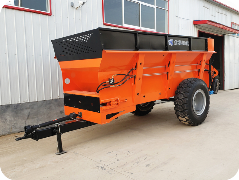 10吨禽畜粪肥撒肥车