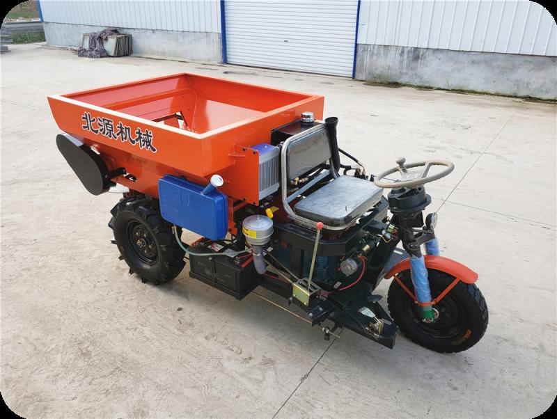 小型有机肥撒肥车